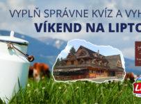 Vyhrajte pobyt pre 2 osoby v tradičnej slovenskej kolibe Strachanovka v srdci Liptova