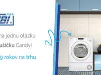 Zapojte sa do súťaže s eshopom TIBI.sk a vyhrajte sušičku Candy