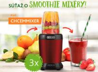 Súťaž o 3x Sencor smoothie mixér