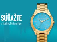 Súťaž o dámske hodinky Michael Kors Slim Runway MK3265