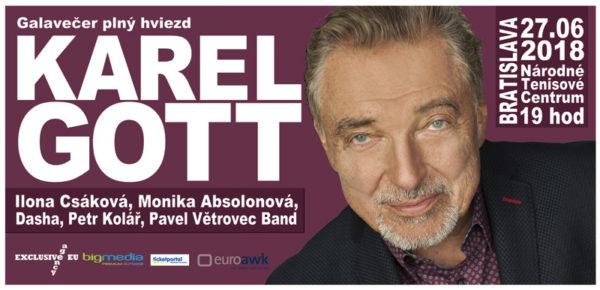 Súťaž o dva lístky na koncert Karla Gotta v Bratislave