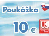 Súťaž o poukazy Kaufland na nákup v hodnote 10€
