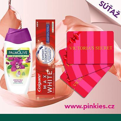 Súťaž s Palmolive a Colgate o voucher na nákup produktov Victoria' s Secret