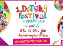Súťaž o vstupenky na 1. Detský festival a veľtrh 2018