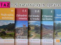 Spoznajte Slovensko. Veľká súťaž o 5 turistických bedekrov