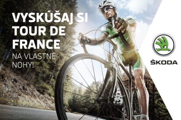 Vyhraj účasť na jedinečnej L'Étape du Tour so značkou Škoda