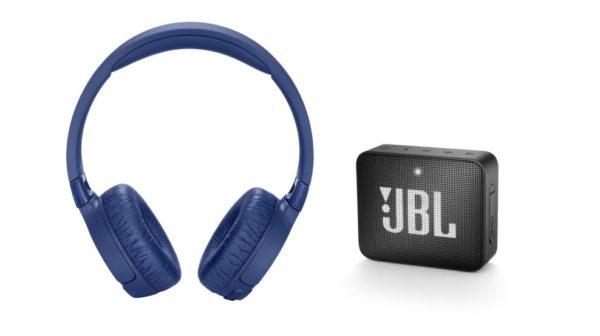 Vyhraj slúchadlá JBL TUNE600BTNC a reproduktor do vrecka JBL GO2