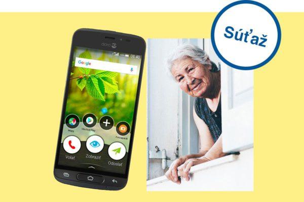 Vyhrajte Doro 8040 – ideálny telefón pre vašich starých rodičov