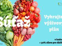 Vyhrajte individuálny výživový plán spolu s konzultáciou v hodnote 120 Eur