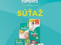 Vyhrajte výrobky značky Pampers v hodnote 450€ podľa vlastného výberu