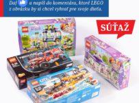 Zapojte sa do súťaže o Lego