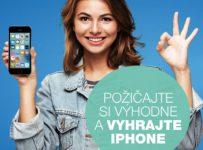 Požičajte si výhodne a vyhrajte iPhone