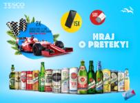 Nakupujte v Tesco s Clubcard a hrajte o preteky