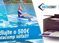Pádlujte o 500 EUR v Datacomp súťaži