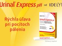 Súťaž o 3 balíčky akútnej starostlivosti Urinal® Express pH