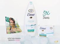 Súťaž o balíček produktov Dove