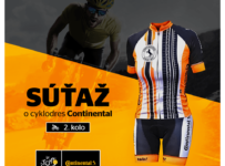Súťaž o cyklodres Continental