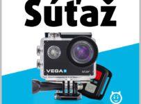 Súťaž o digitálnu kameru Niceboy VEGA 6 Star