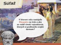 Súťaž o predplatné magazínu Historická revue na pol roka