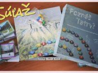 Súťaž o spoločenskú hru Poznáš Tatry