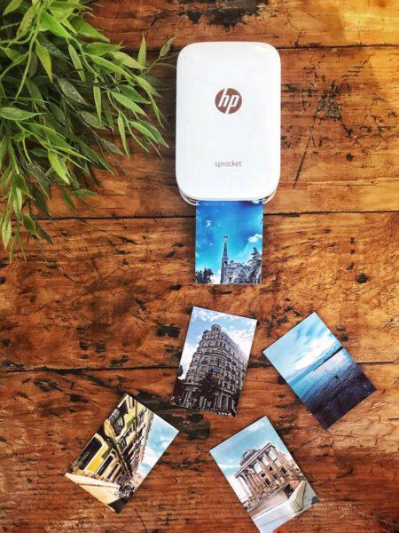 Súťaž o vreckovú tlačiareň HP Sprocket