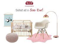 Súťažte s FAVI až o 500 EUR