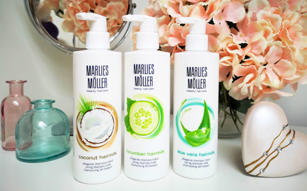Vyhraj 6x Marlies Möller hairmilk uhorka, kokos alebo Aloe vera