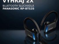 Vyhraj Bluetooth slúchadlá Panasonic RP-BTS35