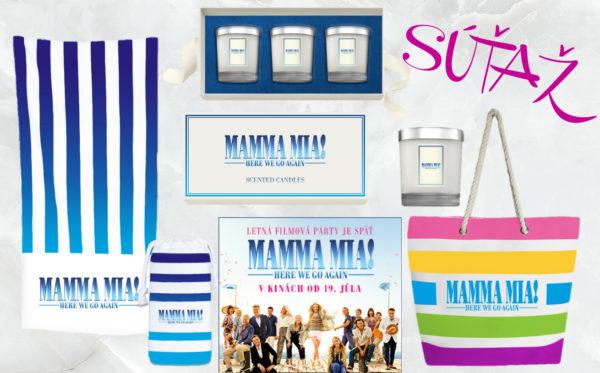 Vyhraj atraktívne ceny s filmom Mamma Mia! Here We Go Again