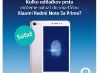 Vyhrajte 5x Xiaomi Redmi Note 5a Prime
