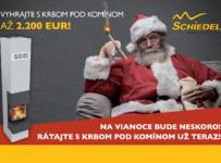 Vyhrajte až 2200 Eur s KINGFIRE – krbom pod komínom