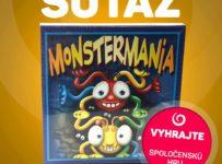 Vyhrajte detskú spoločenskú hru s názvom MONSTERMANIA