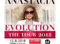Vyhrajte lístky na ANASTACIA EVOLUTION TOUR 2018