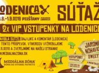 Súťaž o 2x 2 VIP vstupenky na Lodenicu do Piešťan