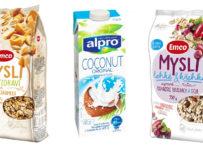Súťaž o 3 balíčky s výrobkami EMCO a Alpro