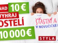 Súťaž o 5 postelí v hodnote 10 000 €