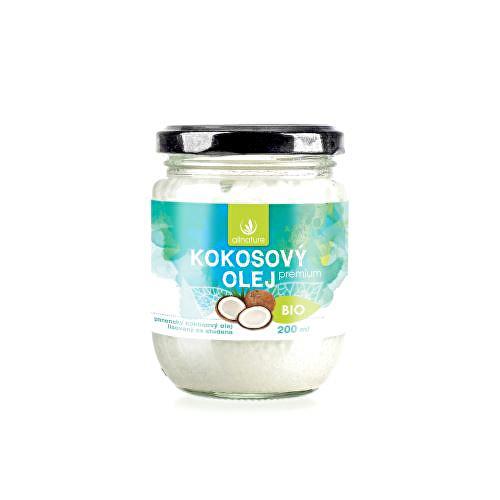 Súťaž o BIO kokosový olej Premium 200 ml