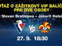 Súťaž o VIP vstupenky na domáci zápas s Jokeritom v KHL