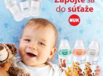 Súťaž o detskú dojčenskú fľašu od značky NUK