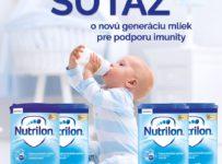 Súťaž o novú generáciu mliek Nutrilon