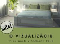 Súťaž o vizualizáciu miestnosti v hodnote 100€