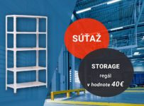 Súťaž o Storage regál v hodnote 40€