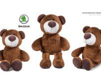Súťaž o tri plyšové medvede ŠKODA