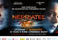 Súťažte o lístky na premiéru filmu Dôverný nepriateľ