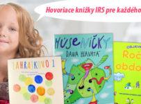 Veľká letná súťaž s hovoriacimi knihami IRS