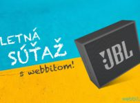 Vyhraj bluetooth reproduktor Jbl a uži si hudobné leto kdekoľvek