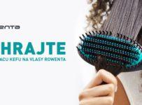 Vyhrajte žehliacu kefu na vlasy Rowenta Power Straight CF5820F0