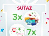 Vyhrajte 10x vitamínový balíček Dr.Max v hodnote 50€