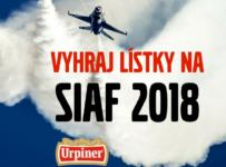 Vyhrajte 2 lístky na SIAF 2018