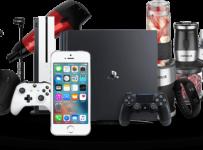 Vyhrajte denne 1 zo 100 cien, PlayStation 4, iPhone SE, Xbox, šeky na nákup alebo e-obsah
